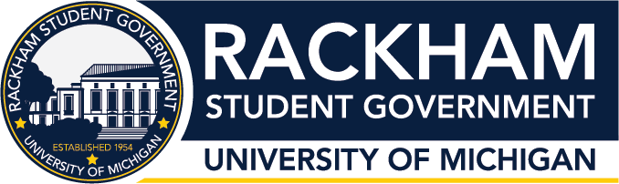 Rackham Student Government (RSG) at the University of Michigan